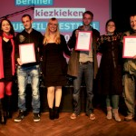 FESTIVALLEITUNG MIT DEN kiezkieken GEWINNERN 2011